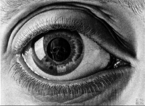Глаз. 1946, меццо-тинто