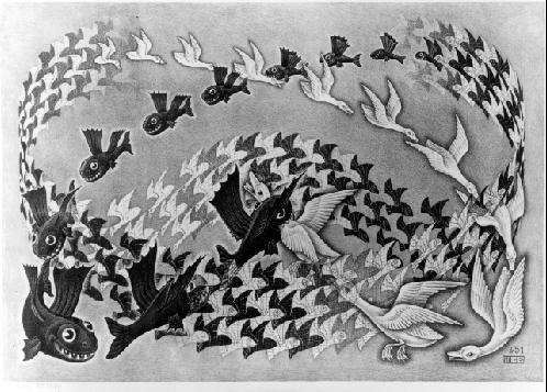 Предопределение. 1951, литография