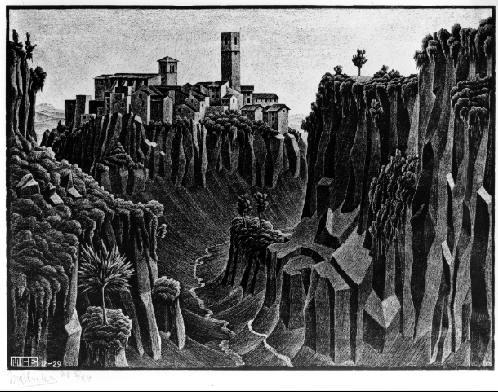 Барбарано, Чимино. 1929, литография