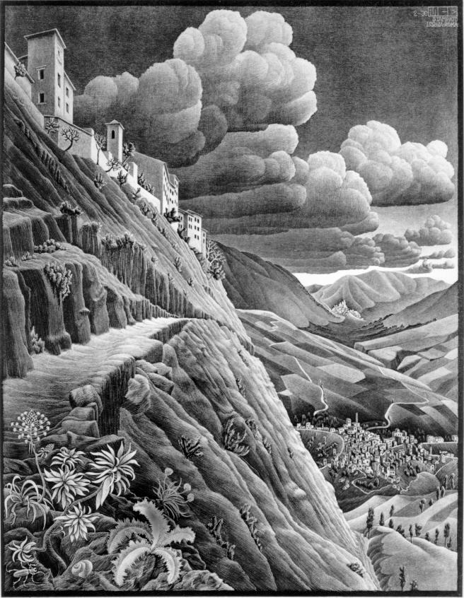 Ксатровальва. 1930, литография