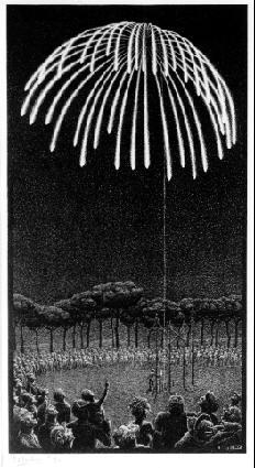Салют. 1933, литография