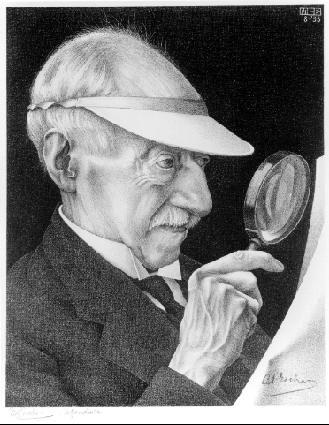 Портрет Г. А. Эшера. 1935, литография