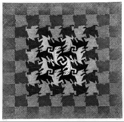 Эволюция 1. 1937, гравюра на дереве