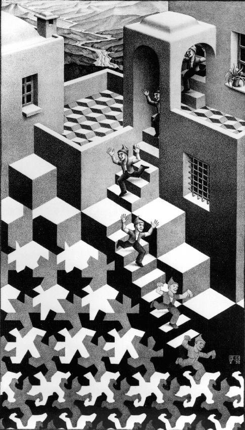 Цикл. 1938, литография
