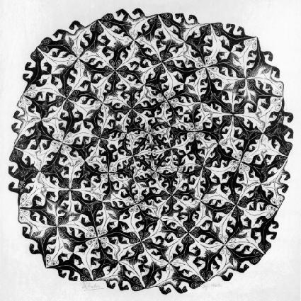 Разделение. 1956, гравюра на дереве