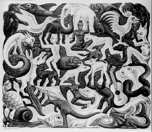 Мозаика II. 1957, литография